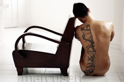 Tattoo (2003). Photographer Marcus Mok hails from Singapore