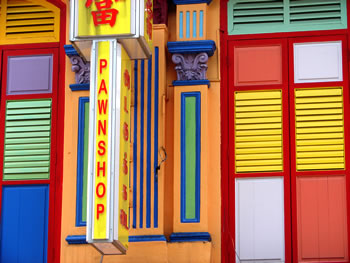 Singapore pawn shop (c) 2010 by John Goss