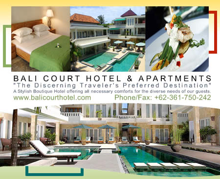 click here for Bali Court Hotel & Apartments