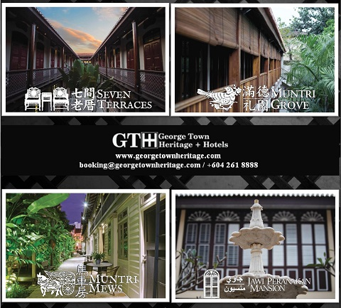 click here for GEORGE TOWN HERITAGE + HOTELS