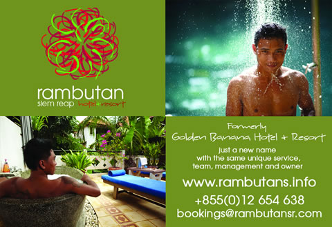 click here for Rambutan Resort Siem Reap and Rambutan Hotel Siem Reap