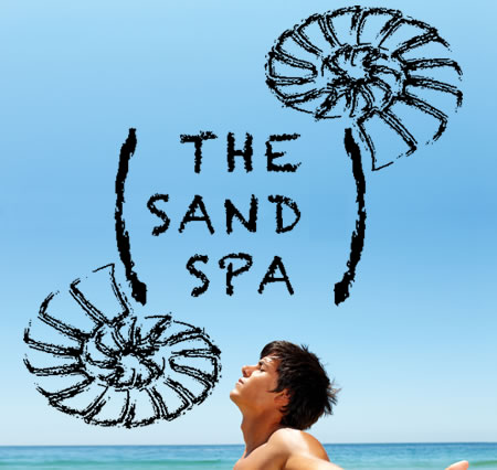 click here for THE SANDS SPA