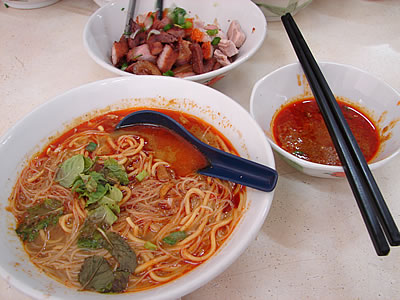 Ipoh curry noodles