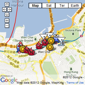 click for our interactive map of the Happy Valley, Wanchai, Causeway Bay, Northpoint area