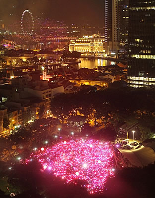 Pink Dot 2012 Lights Up Singapore