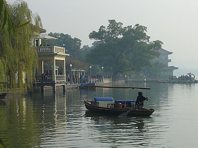 Hangzhou West Lake (c) 2003 by John C. Goss