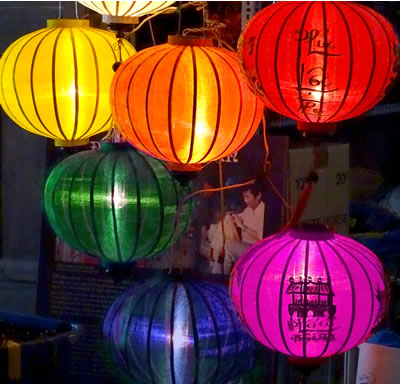 Hoi An Rainbow Lanterns (c) 2015 by John C. Goss