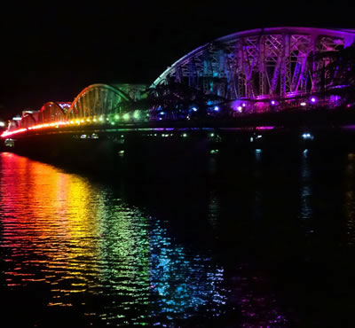 Hue Rainbow Bridge (c) 2015 by John C. Goss