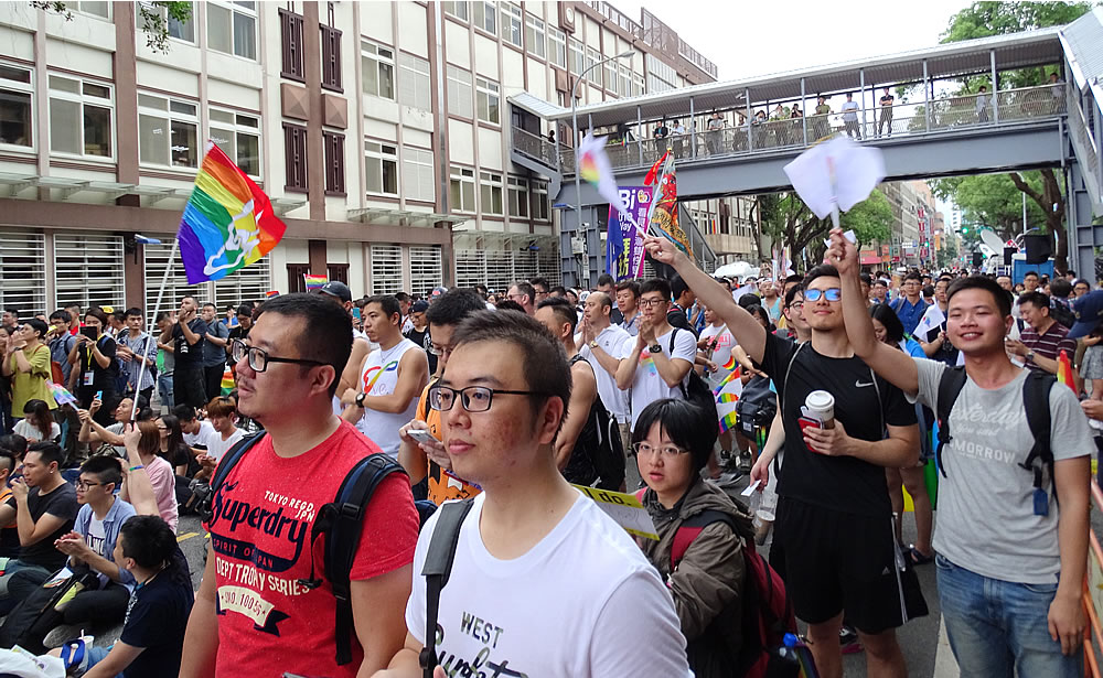Taiwan - LGBT rally for marriage equality (c) 2017 by John C. Goss